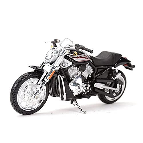 El Maquetas Coche Motocross Fantastico 1:18 para Harley Motocicleta Modelo Simulación Aleación Decoración Adultos Colección Juguete Locomotora Pesada Regalos Juegos Mas Vendidos