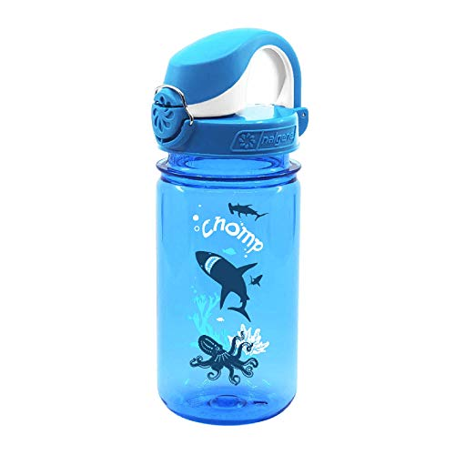 Nalgene Trinkflasche Everyday Otf Kids - Botella de agua para bicicletas, Azul, 0.35 L