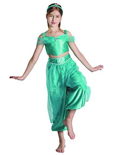 Party Fiesta Disfraz Princesa rabe para Nia (10-12)