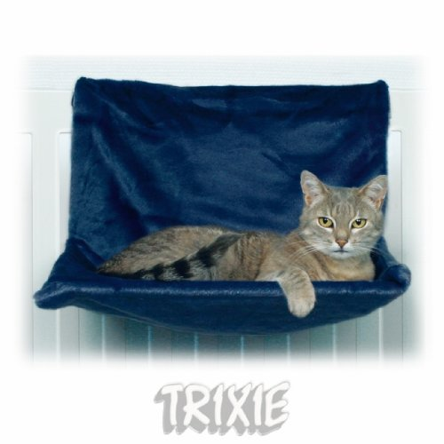 Estante de cama para gatos con hamaca radiadora