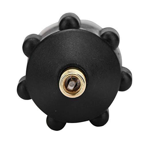 Adaptador de válvula SUP Barco inflable Bomba de SUP Adaptador de compresor Accesorio de adaptador de válvula de aire (cobre + caucho)