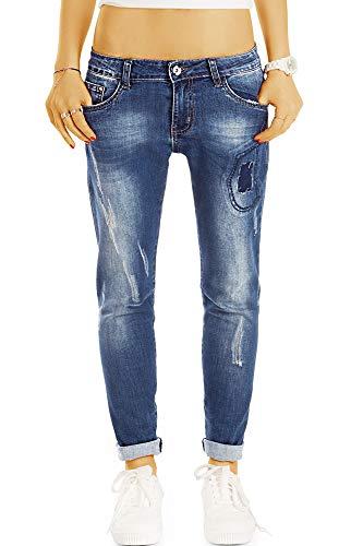 Bestyledberlin -  Jeans - a Sigaretta - Donna Destroyed Blue XS