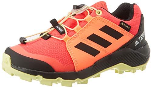 adidas Unisex-Kinder Terrex GTX K Traillaufschuh, Shock Red/Core Black/Yellow Tint, 30 EU