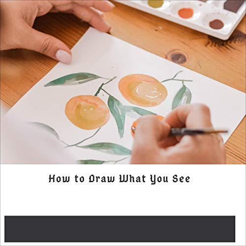 How to Draw What You See cover art