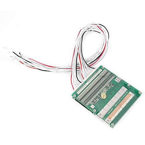 Batterieschutzmodul, Lithium-Li-Ionen-Batterieschutzplatine, 24 S, 3,2 V, 30 A, BMS mit gleichem Anschluss und Ausgleichsleuchte für Ternärzelle, LiFe-Zelle