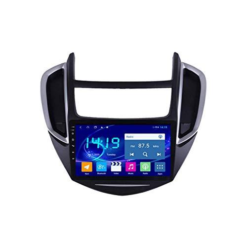Coche Radio Video Estéreo Para Chevrolet Trax 2014-2016 Unidad De Cabeza Auto Multimedia Player SAT NAV NAV FM Receptor 1080P HD Pantalla Táctil HD Bluetooth Mirrorlink USB DAB,8 core 4g+wifi: 2+32gb