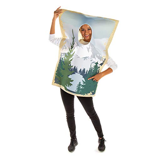 Happy Little Painting Halloween Costume - Funny Picture Frame Outfit