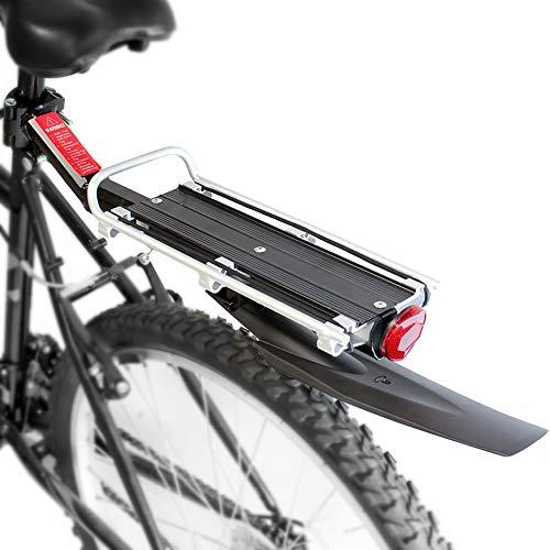 Portabicicletas trasero para bicicleta, Portaequipajes ajust