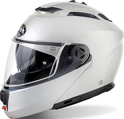 Airoh PHS1141 Phantom-S Color White Gloss S, Grigio, Small