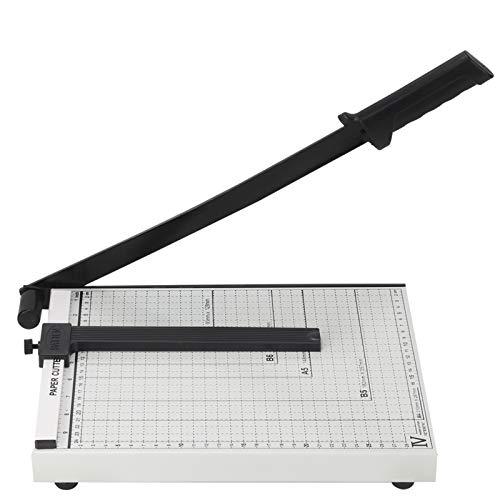 YORKING A4 Hebelschneider Papierschneider Foto Papier Schneidemaschine Fotoschneide Papierschneider