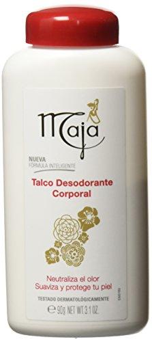 Maja Talco Desodorante Corporal, 90 G, Pack of 1
