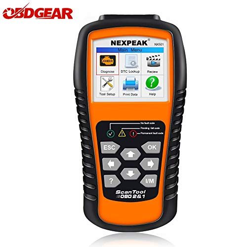 US Warehouse - Davitu Engine Analyzer - 2018 Best OBD2 Auto Scanner NX501 ODB 2 Auto Diagnostic Car Scanner In Russian Multilingual Engine Code Reader Diagnostic Tool