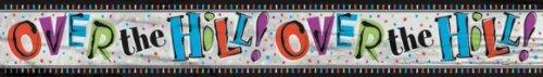 MRS CHRISTMAS Bannière d'anniversaire Foil sur la Colline 12 'de Long
