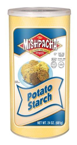 Potato Starch, Gluten-Free, 1.5 lb Resealable Container, Kosher, 24 Ounces