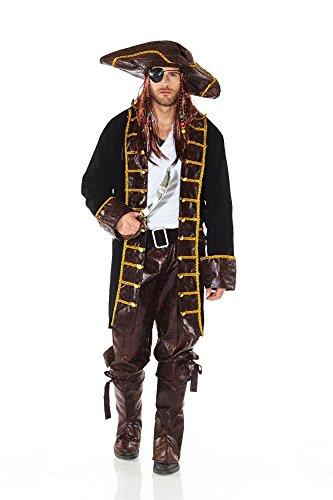 Disfraz de pirata para hombre de Piratas del Caribe