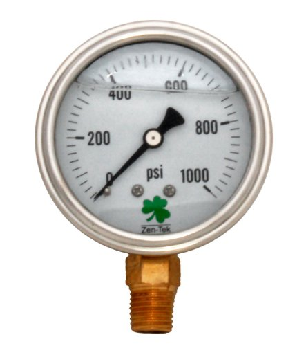 1000 psi gauge - 6
