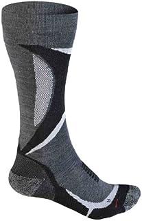 Calcetines de esquí NT P 100 para Mujer, Gris Claro/Medio