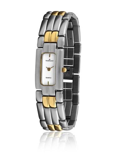 Radiant 72078 - Reloj de Señora Plata/Oro/Blanco
