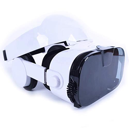 JYMYGS Gafas VR, Gafas de Realidad Virtual, VR Glasses Visión Panorámico 360 Grado Película 3D Juego Immersivo para Móviles 4.0-6.0 Pulgada para iPh X/7/6s 6/Plus, Galaxy s8/ s7, etc. N069JL