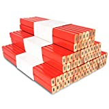 Best Carpenter Pencils - 72Pcs Carpenter Pencils 7 inch Octagonal Red Hard Review