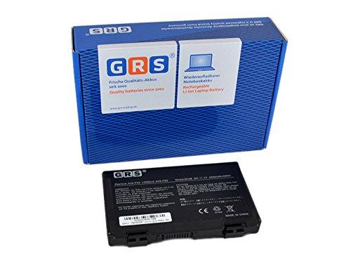 GRS Batería A32-F82 para Akku ASUS X70 K50ij K70 K50 X66 X5D P50 K51 K40 X87 K61 F52 K7010 K60 X65 P81 X8A X5C F82 X5E, sustituye a: A32-F52 L0690L6