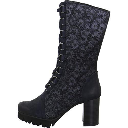 Tizian Damen Stiefel Manhatten 03 Stiefel T42703-VL21-521 blau 805026