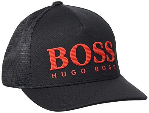 BOSS Herren Cap-Grid 10198889 01 Baseballkappe, Black1, ONESI