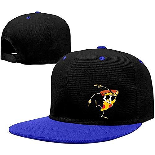 BallainB Uncle Grandpa Pizza Steve Unisex Cotton Adjustable Snapback Hat One Size RoyalBlue