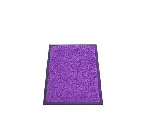 Miltex EAZYCARE UNIQ - Zerbino in 100% poliammide, 40 x 60 cm, colore: Lilla