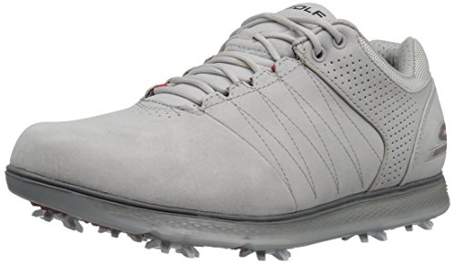 Skechers Performance Men's Go Golf Pro 2 Lx Golf Shoe,Gray,8 M US (Skechers Go Golf Pro 2 Lx Golf Shoes)