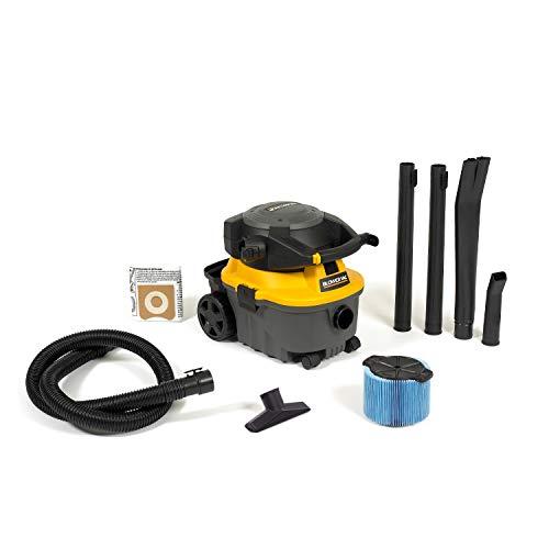 Best Price Workshop Wet Dry Blower Vac WS0400DE Portable Wet Dry Vacuum Cleaner & Blower, 4 gallon L...