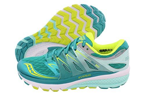 Saucony Women's Zealot ISO 2 Running Shoe, Tea/Cotton, 9.5 M US