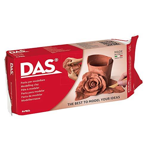 DAS Terracotta, Pasta per modellare, 500 grammi