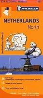 Netherlands North - Michelin Regional Map 531 (Michelin Regional Maps) by NA(2013-03-25)
