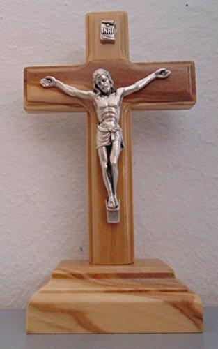 Standkreuz Olivenholz 12 cm