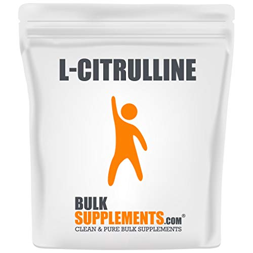 BulkSupplements.com L-Citrulline Powder - Unflavored Pre-Workout - Citrulline Supplement (500 Grams - 1.1 lbs)