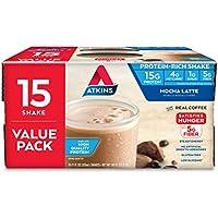 15-Pack Atkins Gluten Free Protein-Rich Keto Friendly Shake