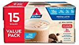 Atkins Gluten Free Protein-Rich Shake, Mocha Latte, Keto Friendly, 15 Count