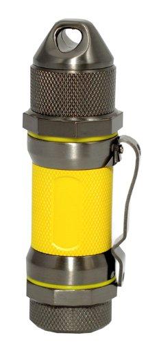 Visol Storm Gunmetal/Yellow High Altitude Windproof Lighter