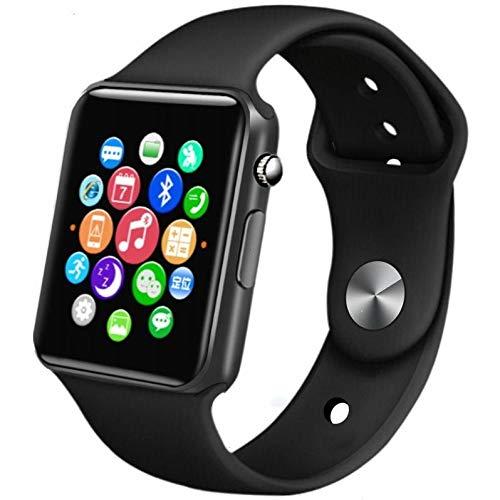 QCHNES Bluetooth Smartwatch, Fitness Tracker Sport Uhr Smart Watch, IP68 Wasserdicht Herzfrequenz Blutdruckmessung Blutsauerstoff Monitor Schrittzähler Geeignet iOS Android