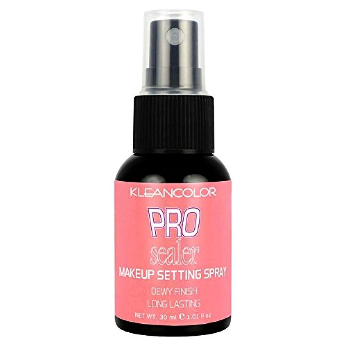 習字誠実文芸KLEANCOLOR Pro Sealer Makeup Setting Spray - Dewy Finish (並行輸入品)