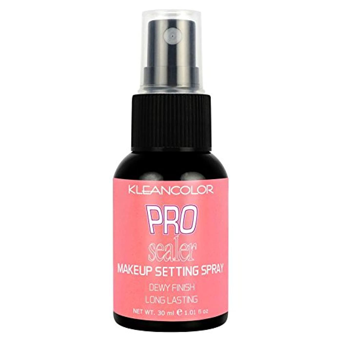 小屋災害ルーム(3 Pack) KLEANCOLOR Pro Sealer Makeup Setting Spray - Dewy Finish (並行輸入品)
