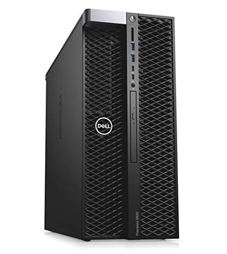 Dell Precision T5820 Workstation, Intel Xeon W-2133 6-Core 3.60GHz Processor, 32GB DDR4-2666MT/s RDIMM Memory, 1TB NVMe PCIe SSD, 2TB 7200RPM HDD, NVIDIA Quadro P2000 5GB, Windows 10 Pro