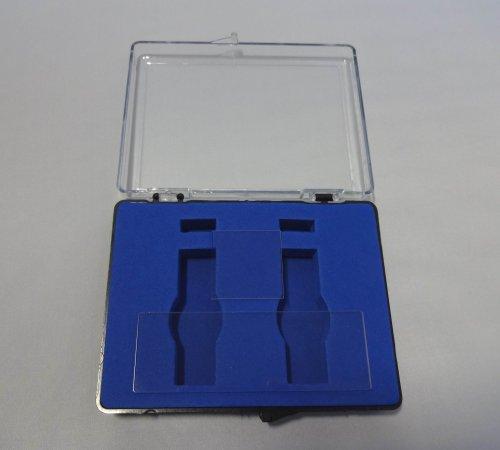 Microscope Quartz Slide 3'x1',76.225.4mm + Quartz Cover Slip 1'x1',25.425.4mm