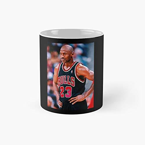 Taza clásica de Michael Jordan The Last Dance   Mejor regalo divertido tazas de café 11 oz