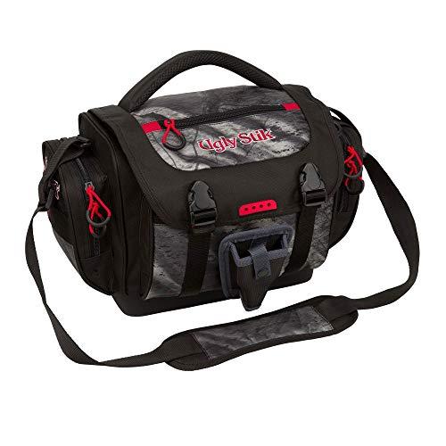 Shakespeare Ugly Stik Medium Fishing Supply & Accessory Soft Tackle Bag, Camo