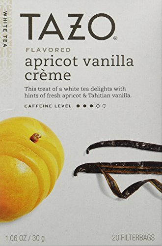 White Tea-Vanilla Apricot Tazo Teas 20 Bag