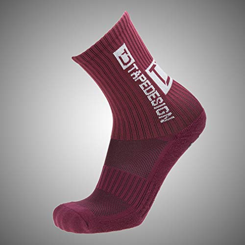 Tapedesign Allro& Classic Socken, Bordeaux red, One Size