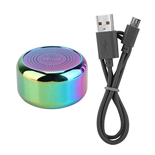 Oumij Altavoces Bluetooth Portátiles de Tamaño Pequeño Conexión Bluetooth Inalámbrica Verdadera al Aire Libre Altavoz de Sonido Estéreo 3D con TWS Interconecta Sonidos Estéreo