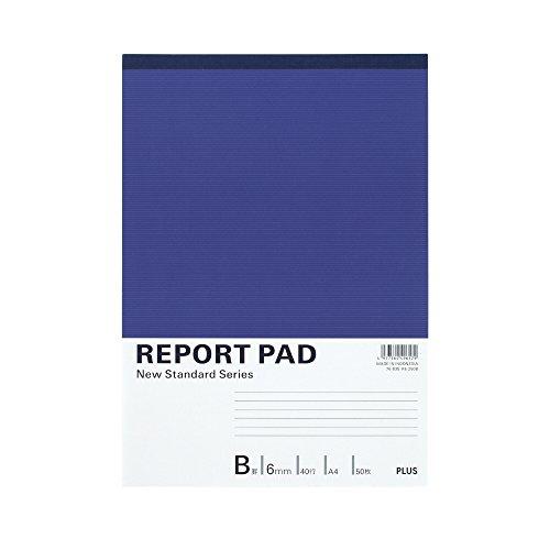 プラス レポート用紙 A4 B罫 50枚 RE-250B 76835